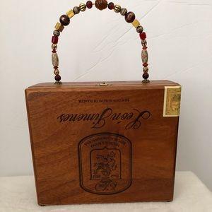 Handbags - Vintage Cigar Box Purse